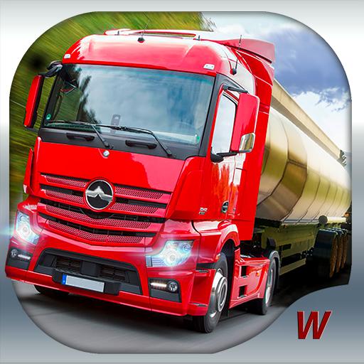 دانلود Truck Simulator : Europe 0.22 – بازی شبیه ساز رانندگی کامیون اندروید + مود