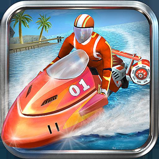 دانلود Powerboat Racing 3D 1.7 – بازی مسابقات جت اسکی سه بعدی برای اندروید